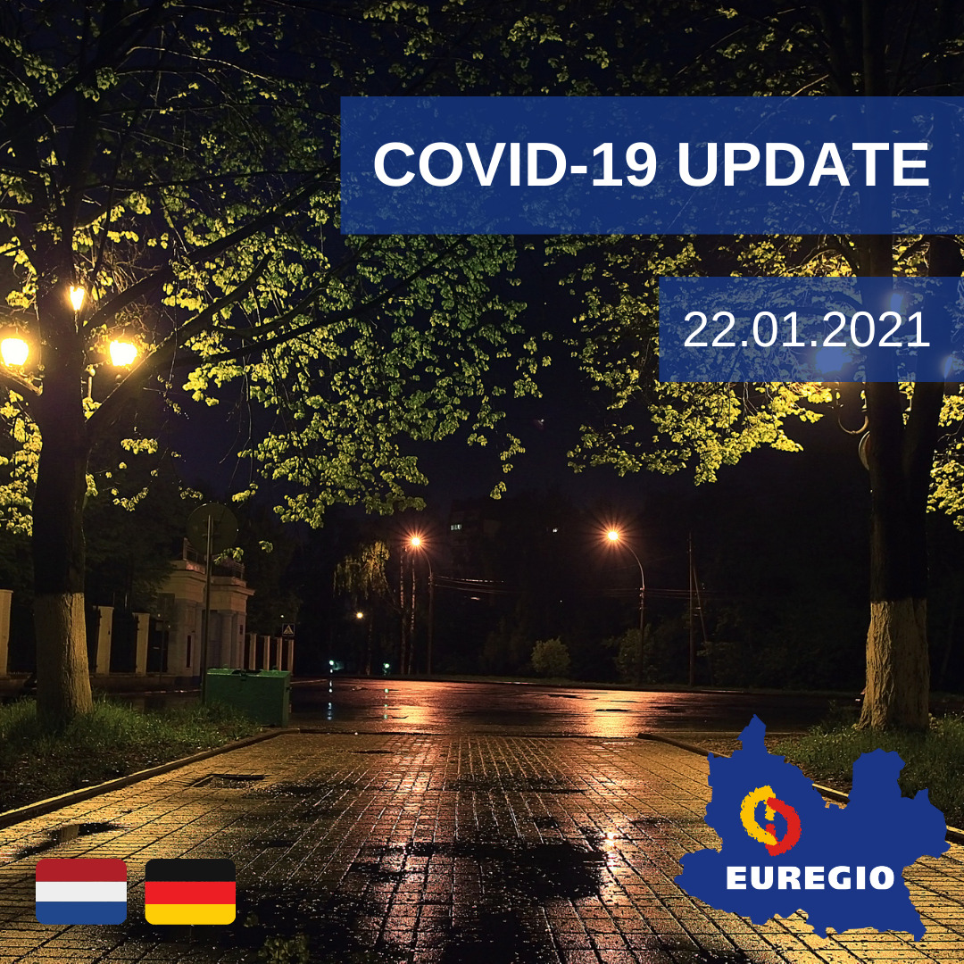 Covid-Update 22 januari 2021 EUREGIO