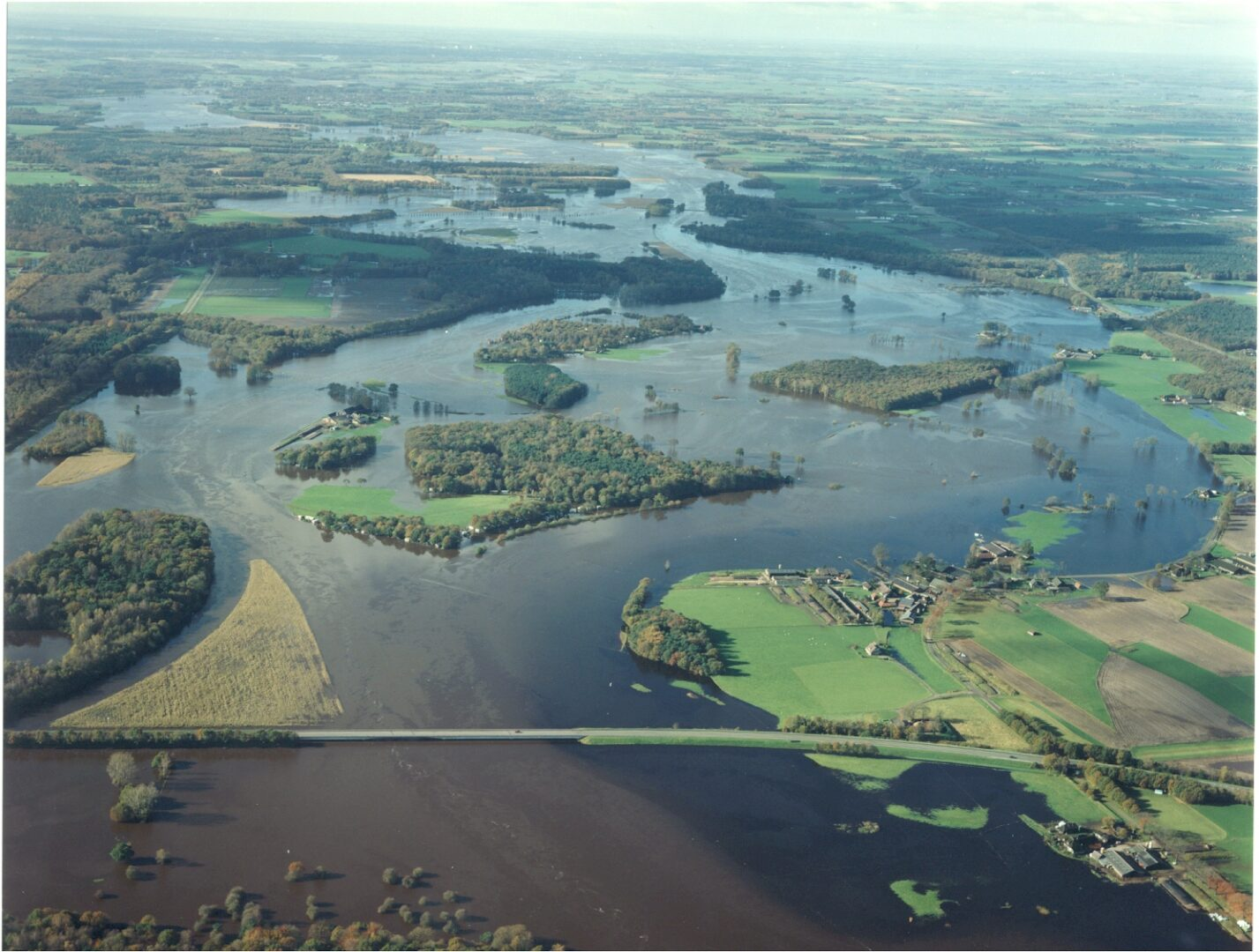 Überschwemmung Der Dinkel Im August 2010