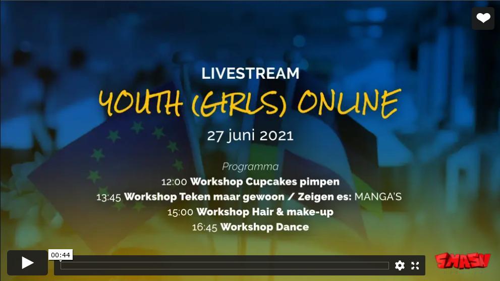 Youth (Girls) Online Impressies Livestream Aftermovie ©Stichting Aover De Gäöt Smash Studios